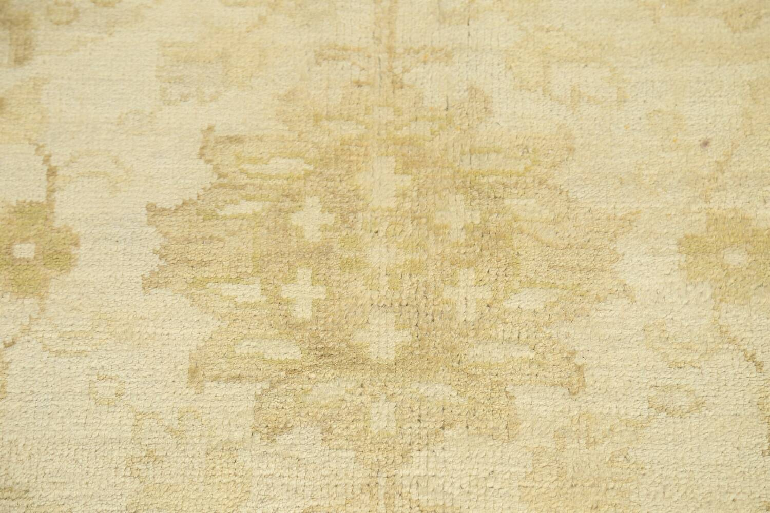Muted Floral Oushak Oriental Area Rug 10x14 image 8
