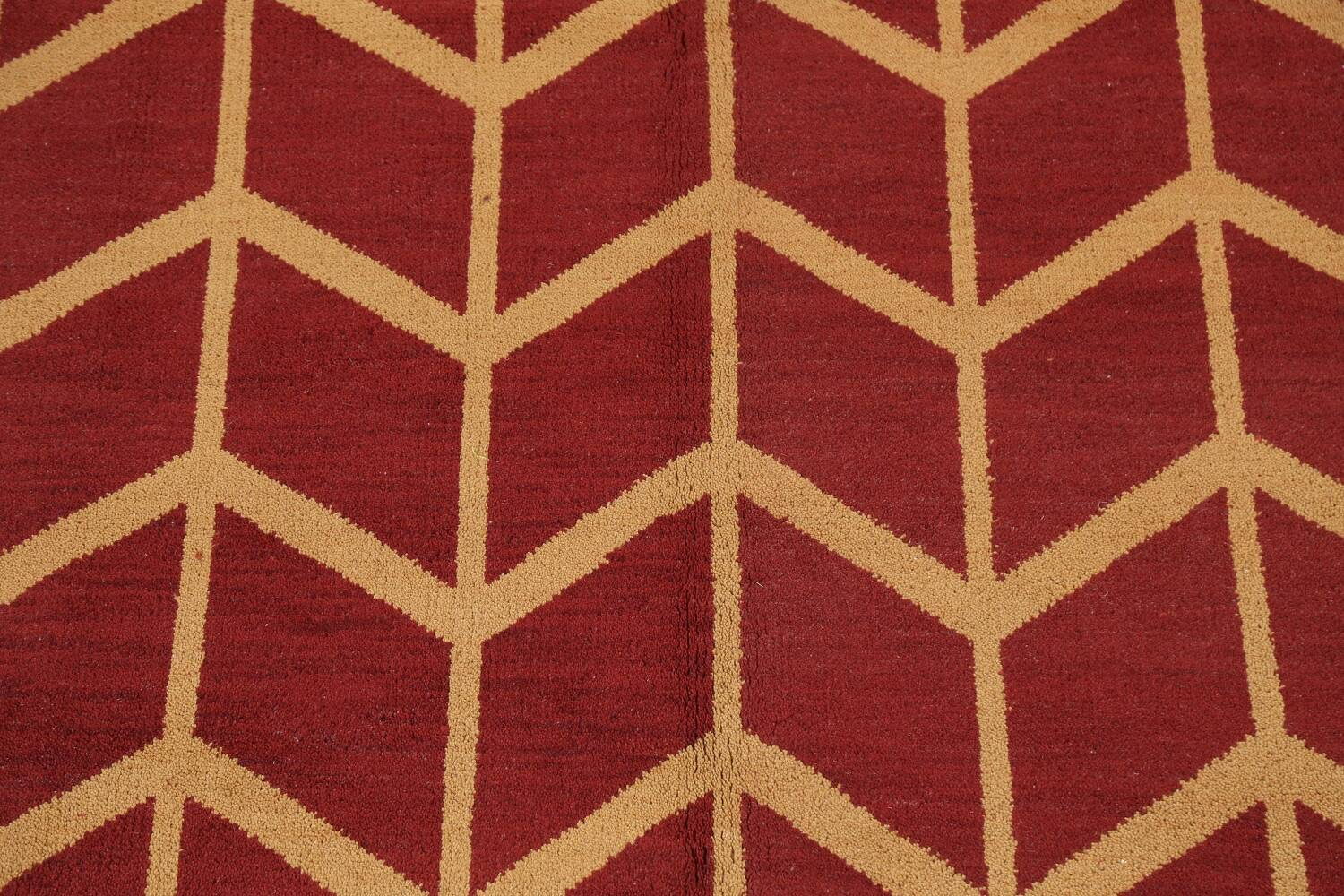 All-Over Moroccan Wool Area Rug 8x10 image 4