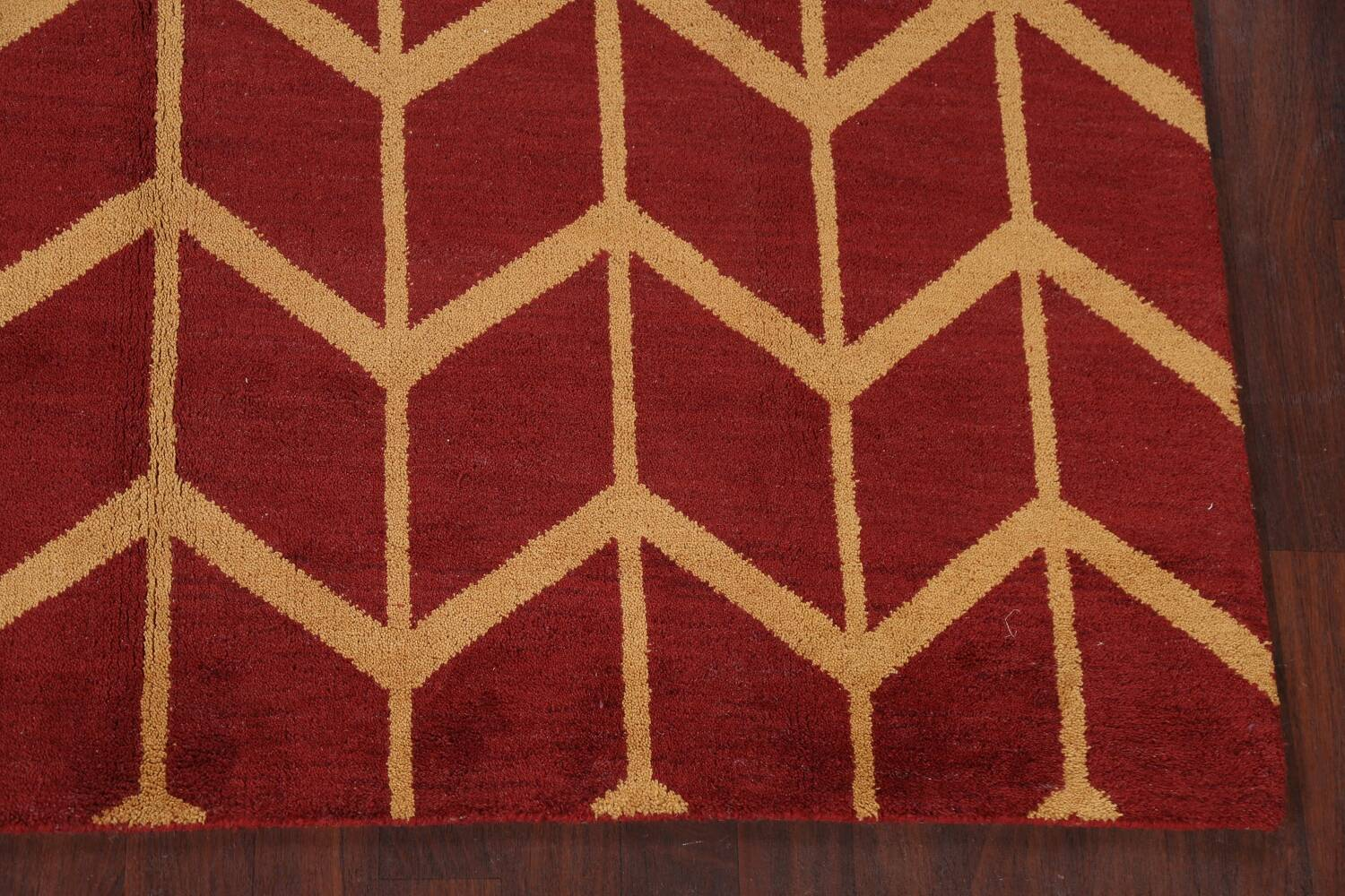 All-Over Moroccan Wool Area Rug 8x10 image 6