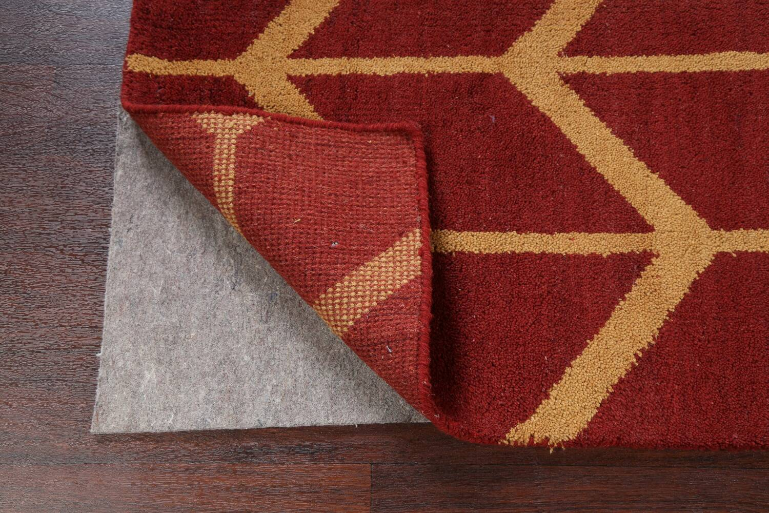 All-Over Moroccan Wool Area Rug 8x10 image 7