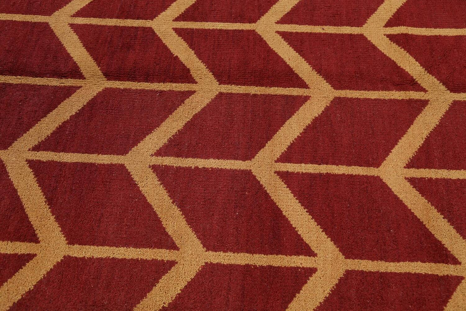 All-Over Moroccan Wool Area Rug 8x10 image 8