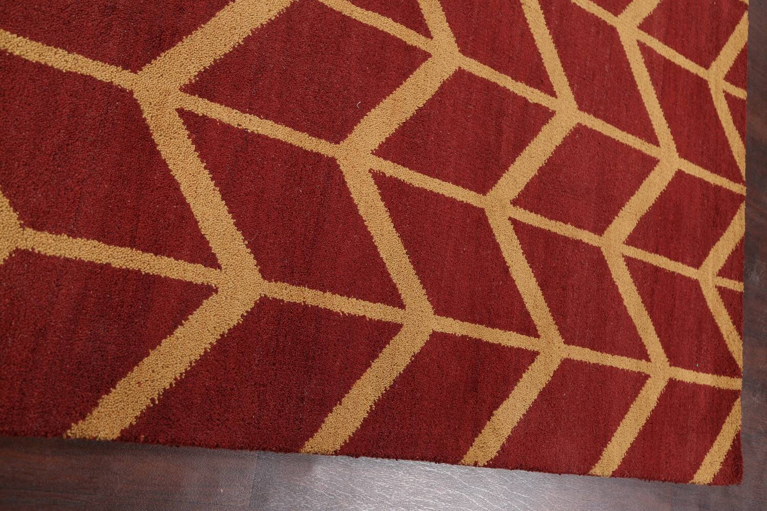 All-Over Moroccan Wool Area Rug 8x10 image 10