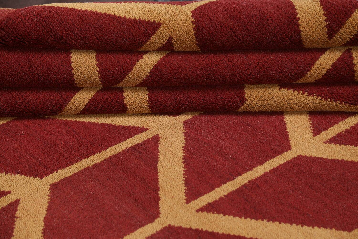 All-Over Moroccan Wool Area Rug 8x10 image 13
