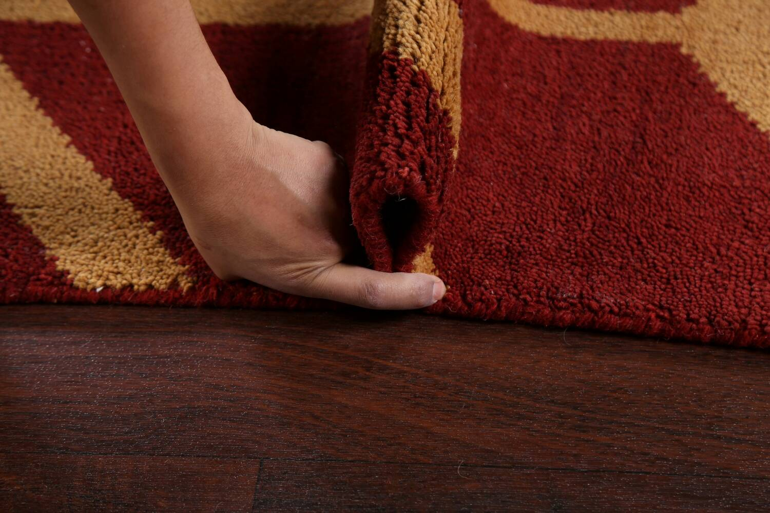 All-Over Moroccan Wool Area Rug 8x10 image 15