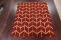All-Over Moroccan Wool Area Rug 8x10 image 2