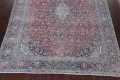 Antique Traditional Kashan Persian Rug 9x12 image 5