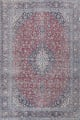 Antique Traditional Kashan Persian Rug 9x12 image 1