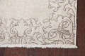 Muted Distressed Tabriz Persian Runner Rug 3x19 image 6