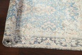 Antique Muted Distressed Kerman Persian Rug 3x5 image 13