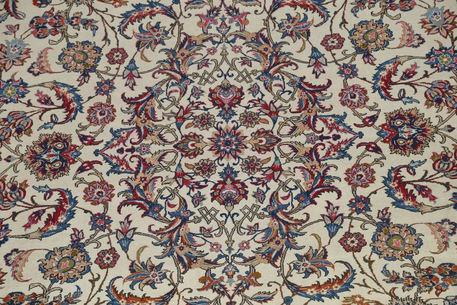 Antique Wool Oversized Isfahan Persian Rug 10x17 image 4