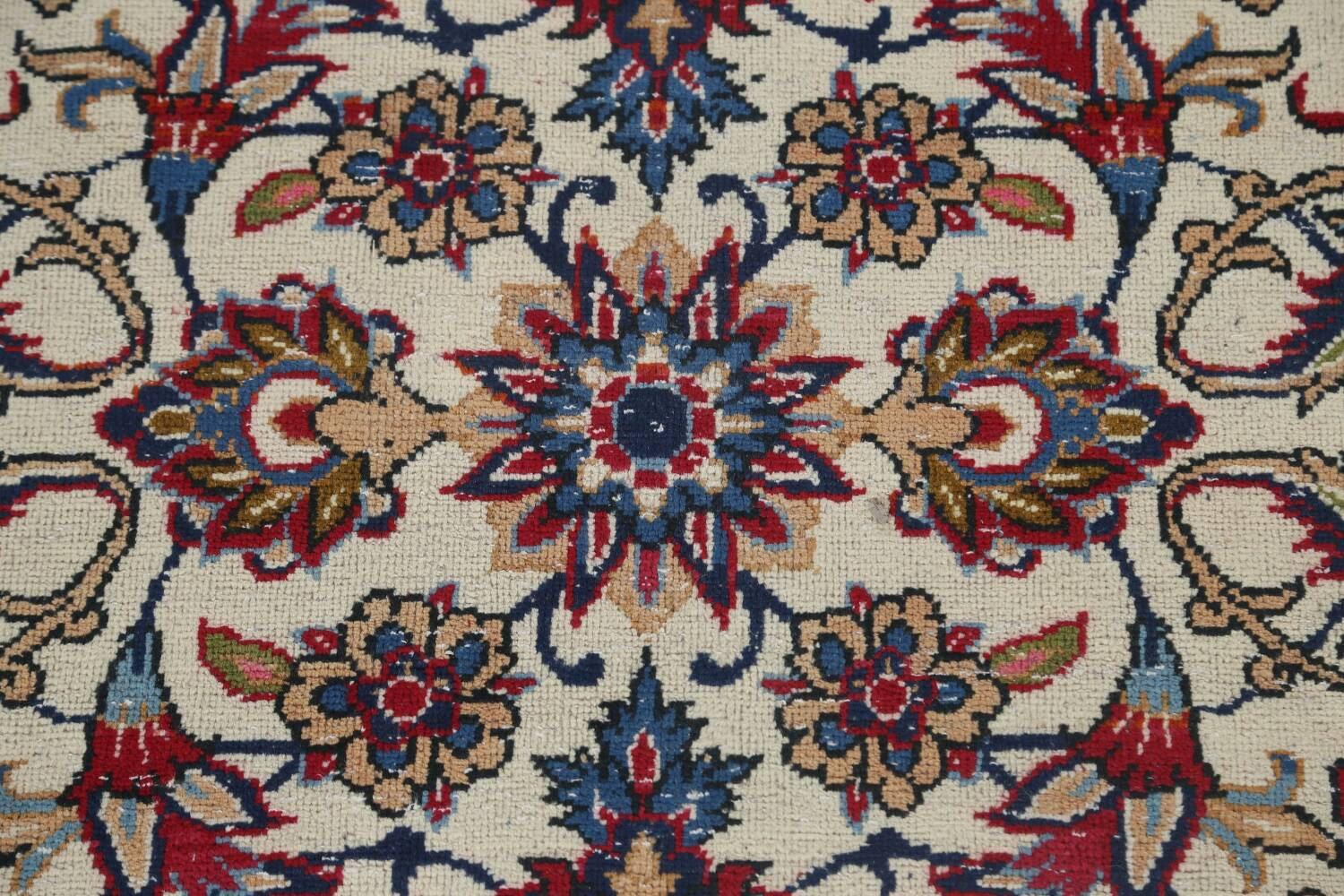 Antique Wool Oversized Isfahan Persian Rug 10x17 image 8