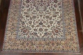 Antique Wool Oversized Isfahan Persian Rug 10x17 image 5