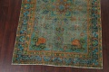 Antique Over-Dyed Distressed Tabriz Persian Area Rug 6x9 image 5