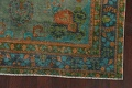 Antique Over-Dyed Distressed Tabriz Persian Area Rug 6x9 image 6