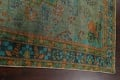 Antique Over-Dyed Distressed Tabriz Persian Area Rug 6x9 image 12