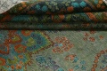 Antique Over-Dyed Distressed Tabriz Persian Area Rug 6x9 image 15