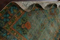Antique Over-Dyed Distressed Tabriz Persian Area Rug 6x9 image 16