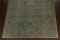 Distressed Over-Dyed Tabriz Persian Area Rug 8x11 image 5