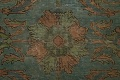 Distressed Over-Dyed Tabriz Persian Area Rug 8x11 image 8
