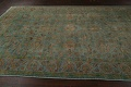 Distressed Over-Dyed Tabriz Persian Area Rug 8x11 image 12