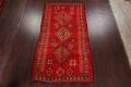Red Moroccan Berber Area Rug 6x11 image 2