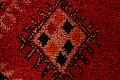 Red Moroccan Berber Area Rug 6x11 image 10