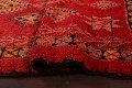 Red Moroccan Berber Area Rug 6x11 image 15