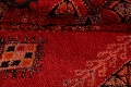 Red Moroccan Berber Area Rug 6x11 image 21
