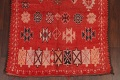 Antique Moroccan Wool Rug 5x10 image 5