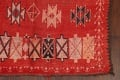 Antique Moroccan Wool Rug 5x10 image 6