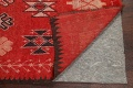 Antique Moroccan Wool Rug 5x10 image 7