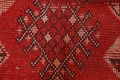 Antique Moroccan Wool Rug 5x10 image 8