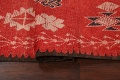 Antique Moroccan Wool Rug 5x10 image 15