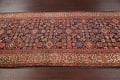 Pre-1900 Antique Vegetable Dye Malayer Persian Rug 5x12 image 11