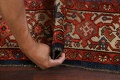 Pre-1900 Antique Vegetable Dye Malayer Persian Rug 5x12 image 14