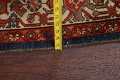 Pre-1900 Antique Vegetable Dye Malayer Persian Rug 5x12 image 15