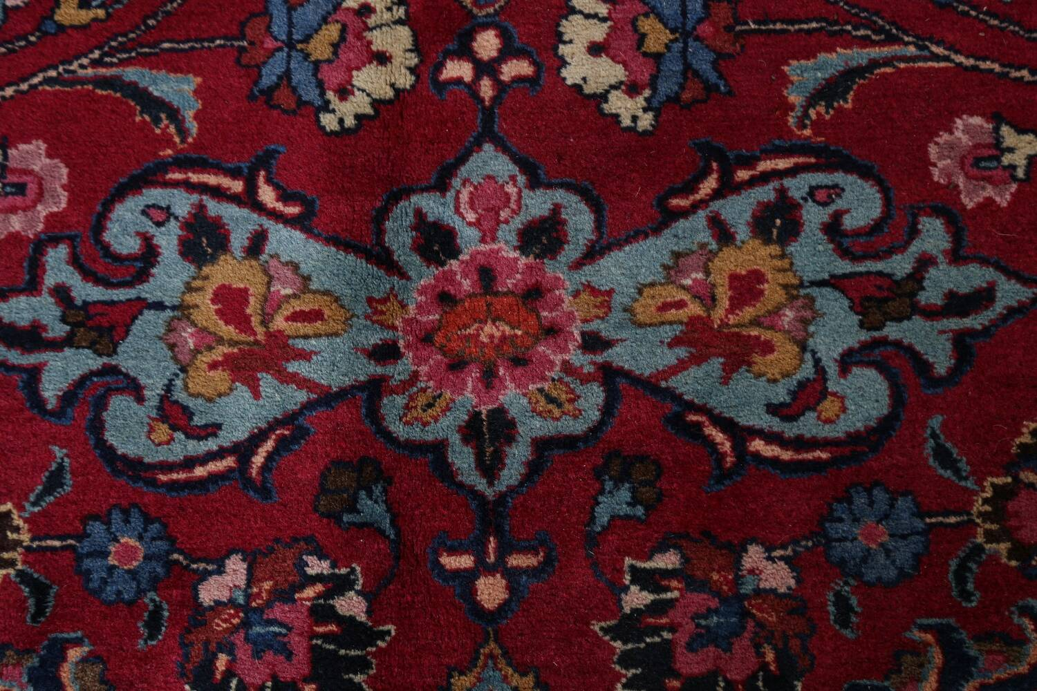 Antique Vegetable Dye Mood Persian Red Rug 11x15 image 9