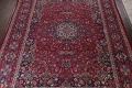 Antique Vegetable Dye Mood Persian Red Rug 11x15 image 3