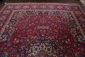 Antique Vegetable Dye Mood Persian Red Rug 11x15 image 13