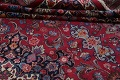 Antique Vegetable Dye Mood Persian Red Rug 11x15 image 17