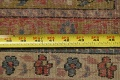 Antique Vegetable Dye Sultanabad Persian Rug 13x20 image 21