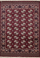 Red Balouch Persian Rug 3x5 image 1