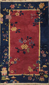 Hand-Knotted Art Deco Wool Rug 3x4 image 1