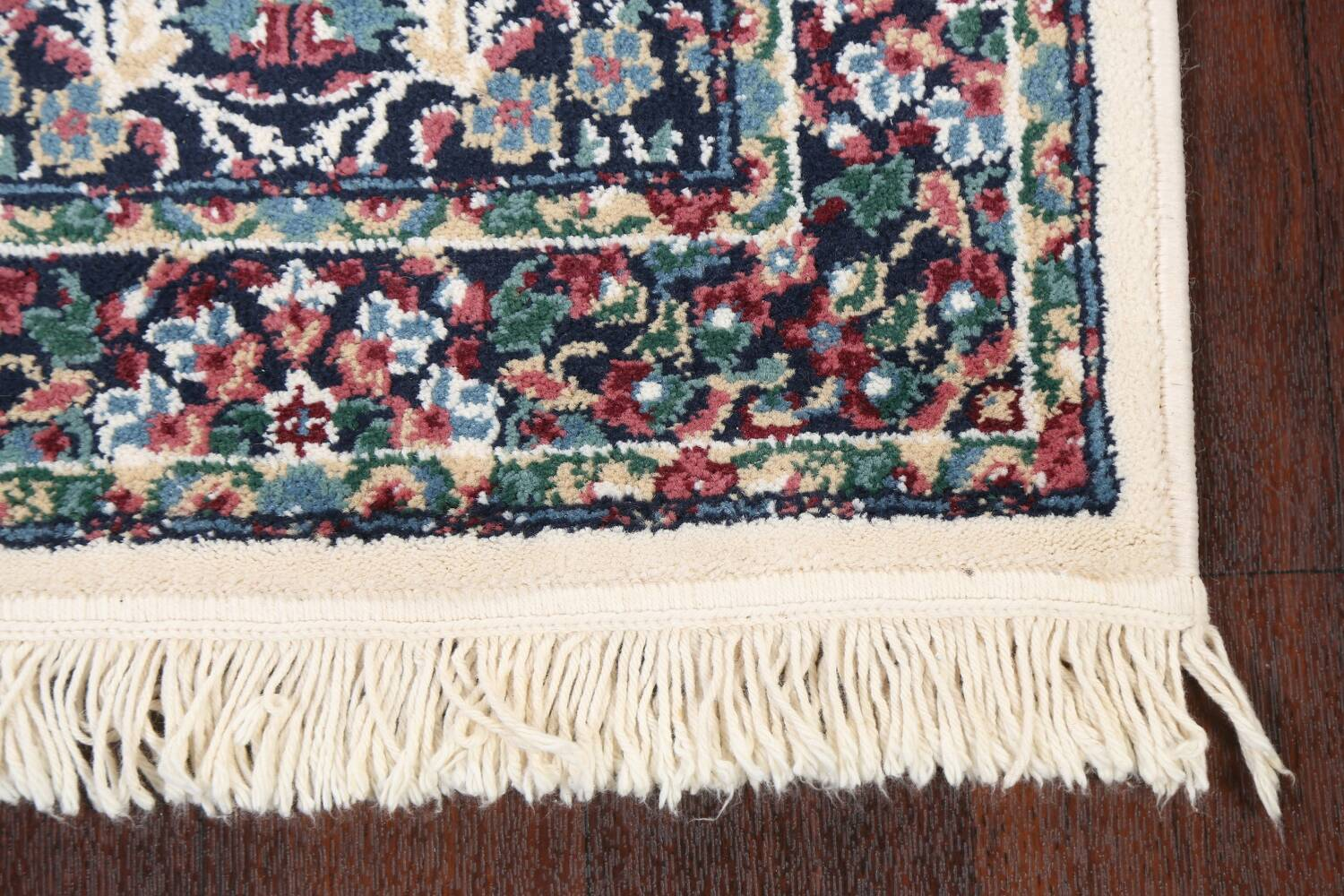 Floral Aubusson Runner Rug 2x8 image 6