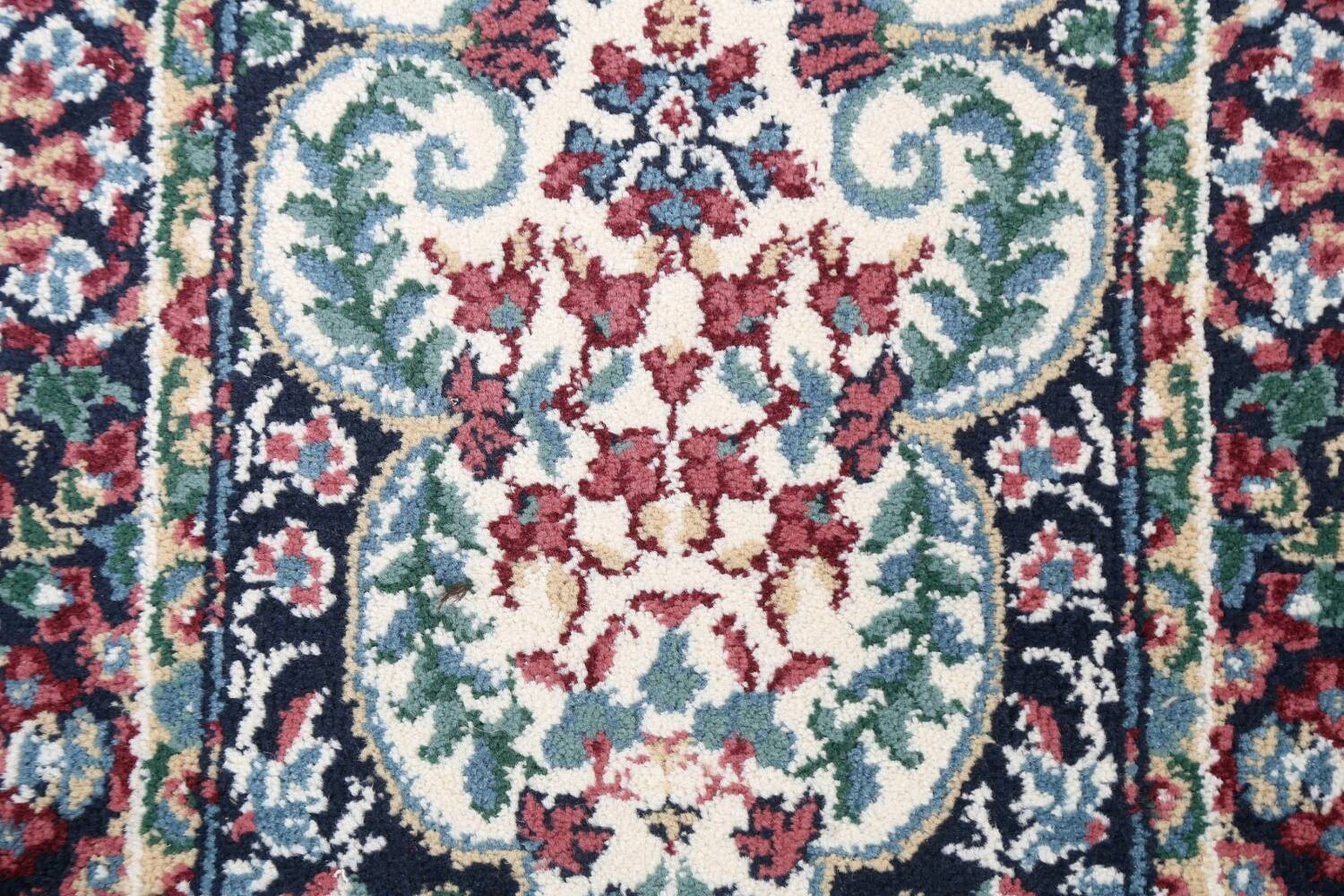 Floral Aubusson Runner Rug 2x8 image 8