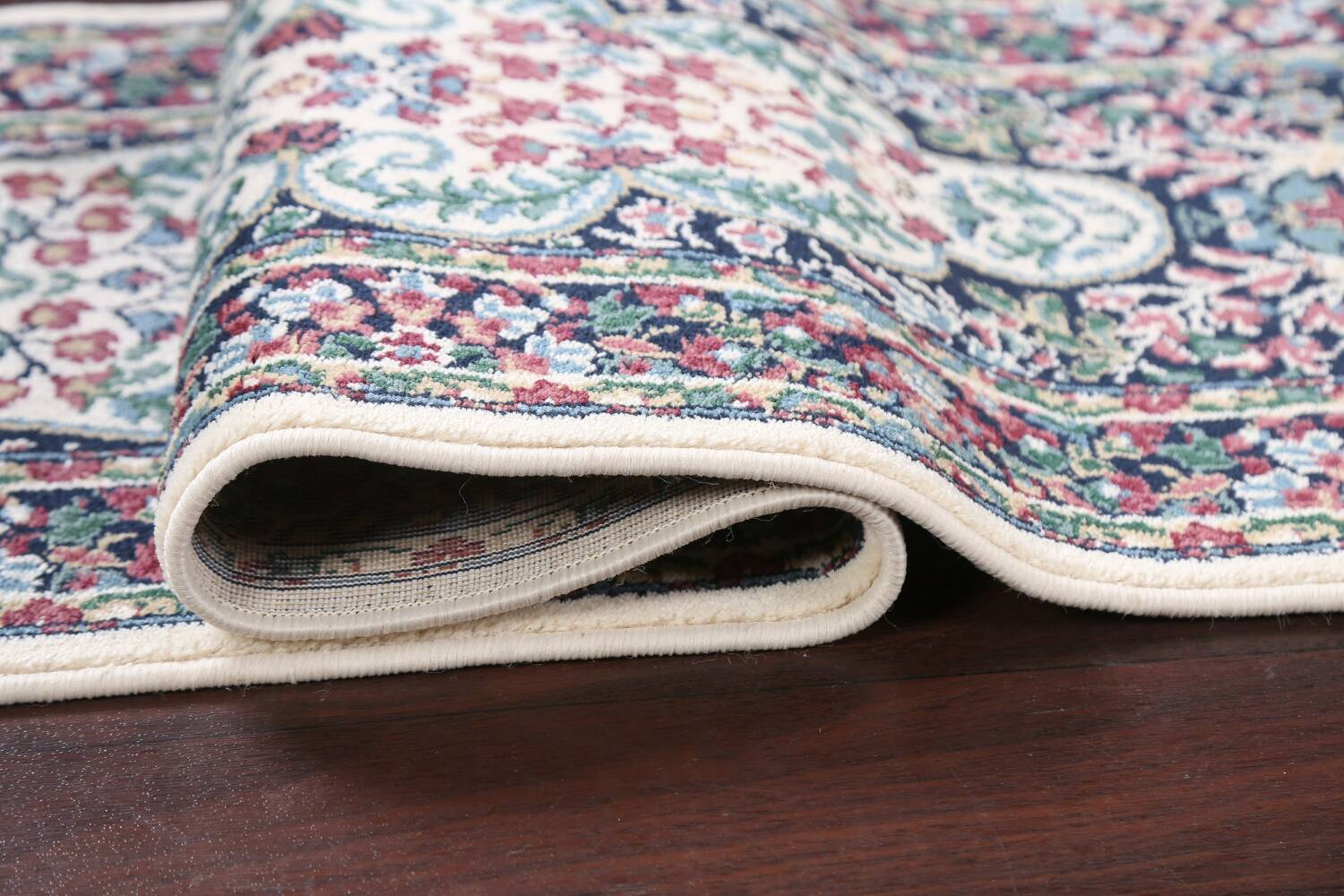 Floral Aubusson Runner Rug 2x8 image 10