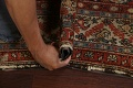 Pre-1900 Antique Vegetable Dye Malayer Persian Rug 3x13 image 17