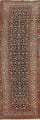 Pre-1900 Antique Vegetable Dye Malayer Persian Rug 3x13 image 1