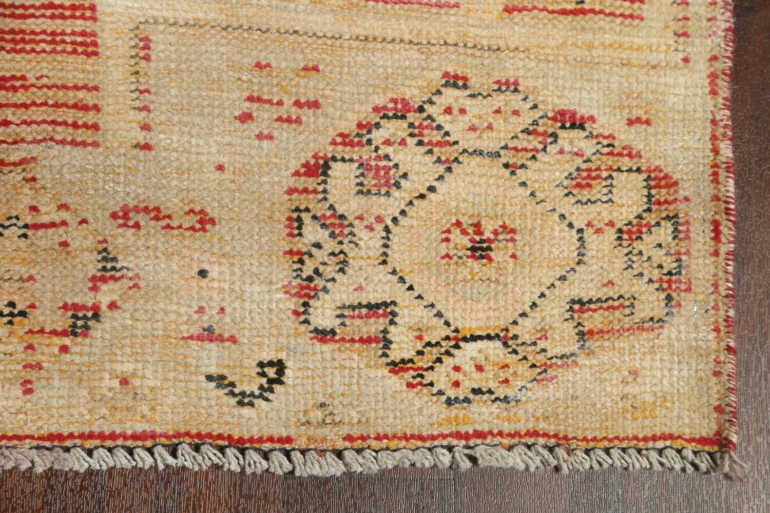 Antique Distressed Malayer Persian Runner Rug 4x12 image 6