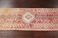 Antique Distressed Malayer Persian Runner Rug 4x12 image 12